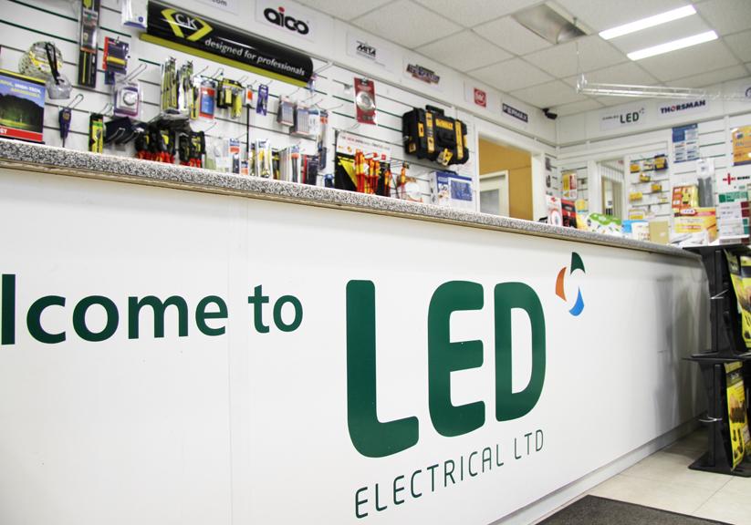 LED Trade Counter
